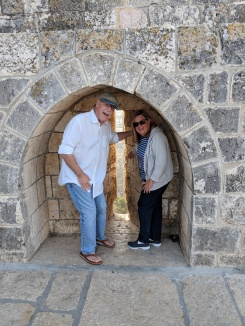 Cheryl and Rich on the Temple Mount